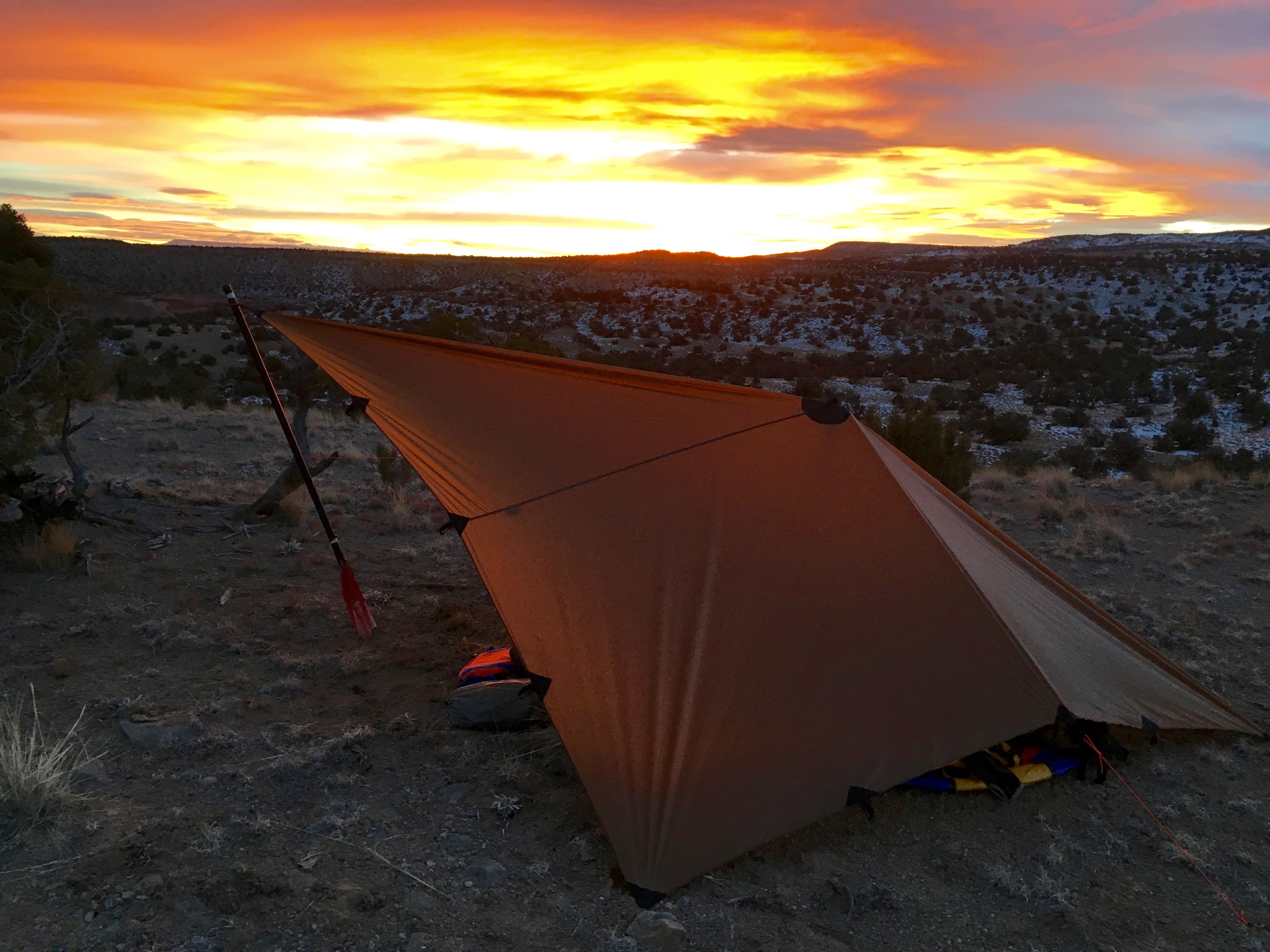 A flat tarp is the most versatile backcountry shelter. The same tarp can be pitched high as a sun shade while rafting in the summer and buttoned down to ... & Product Focus: DST tarp - Seek Outside