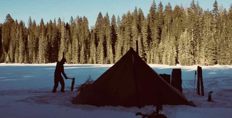 Winter c&ing and hot tenting can be an incredible time to be out. Some of the benefits of winter snow c&ing are that itu0027s far easier to find solitude ... & Winter Camping and Backpacking Tips - Seek Outside