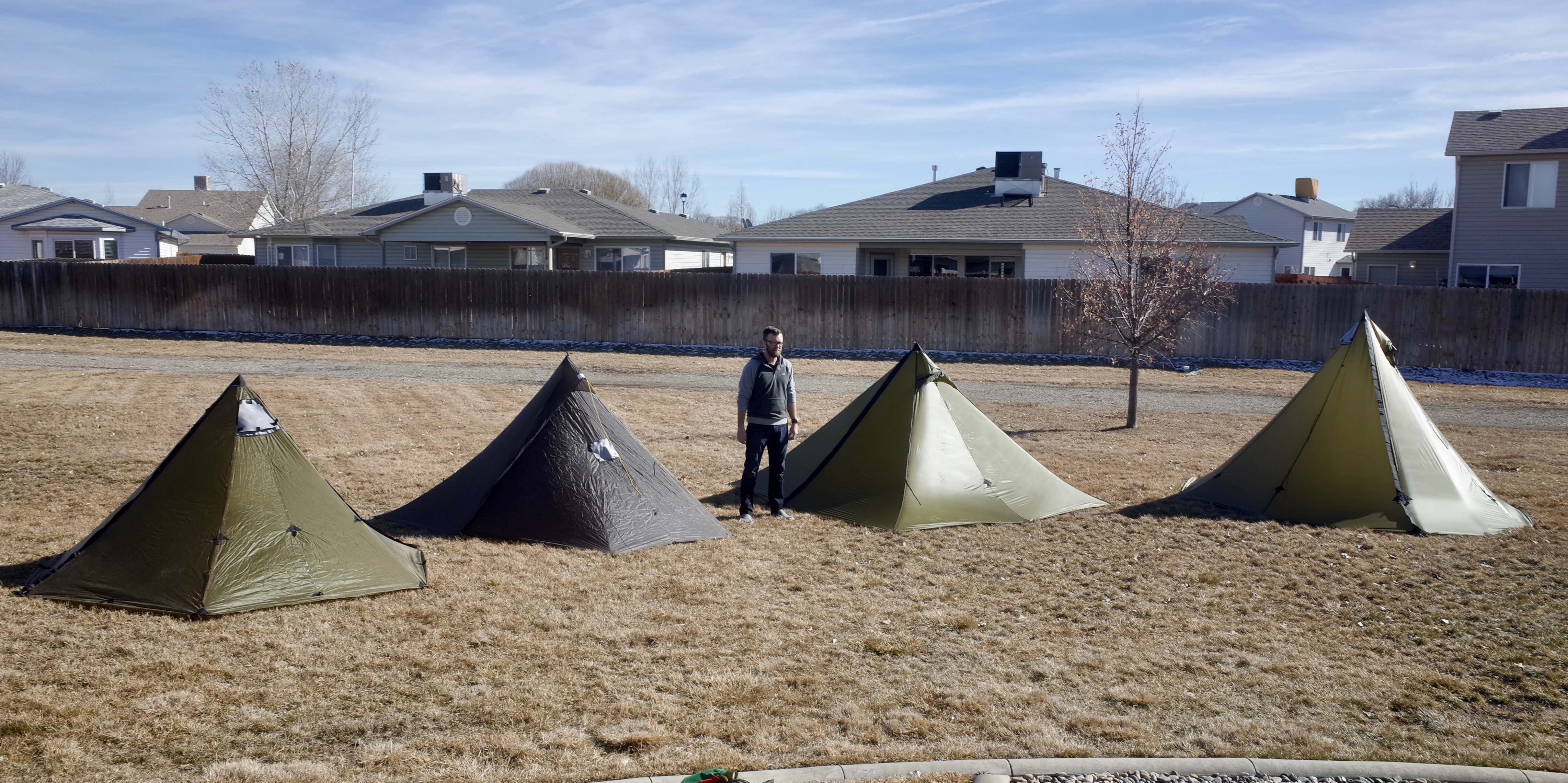 Our four smallest shelters compared - Seek Outside