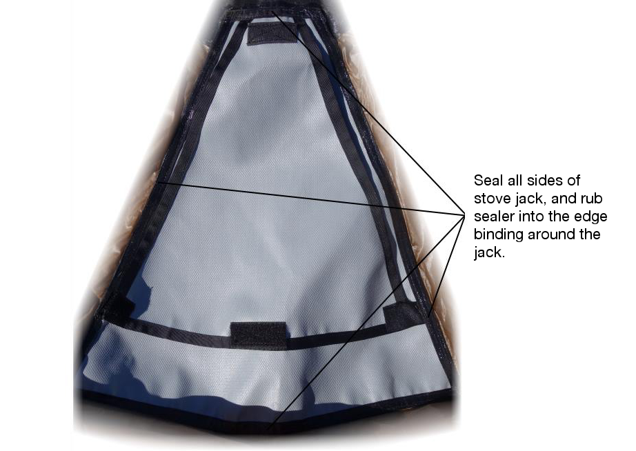 Tipi Seam Sealing Step by Step Guide - Seek Outside